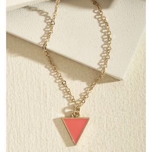 "Modcloth ""worth a tri"" necklace!"